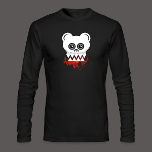 BEAR SKULL - Men's Long Sleeve T-Shirt by Next Level