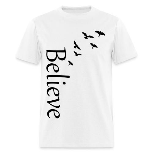 Mens Believe - Men's T-Shirt