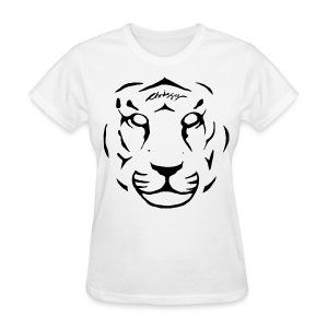 Chrissy Tiger Face T-Shirt - Women's T-Shirt