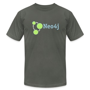 Neo4j Standard Dude - Men's T-Shirt by American Apparel