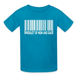 Product of Mom and Dad T-Shirt - Kids' T-Shirt
