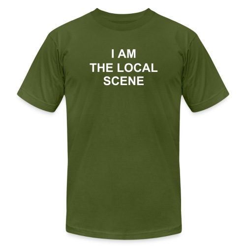 I AM The Local Scene - Men's Fine Jersey T-Shirt