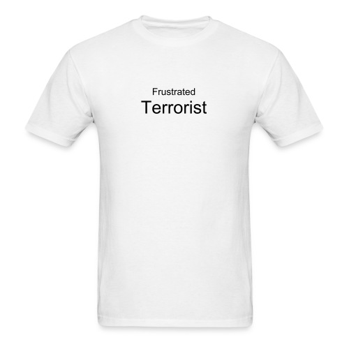Frustrated/white3 - Men's T-Shirt