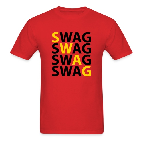 Swag x4 - Men's T-Shirt
