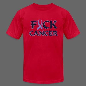 F&ck Cancer - Men's T-Shirt by American Apparel