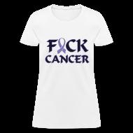 Women's T-Shirts ~ Women's T-Shirt ~ F&ck Cancer