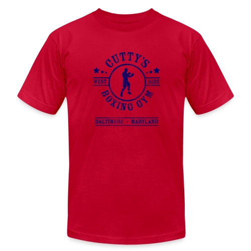 Cutty's Boxing Gym T-Shirt (Light Blue) - Men's  Jersey T-Shirt