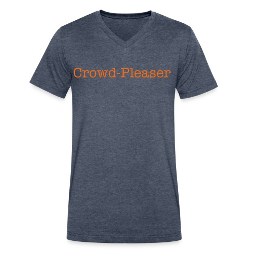 Crowd Pleaser Tee - Men's V-Neck T-Shirt by Canvas