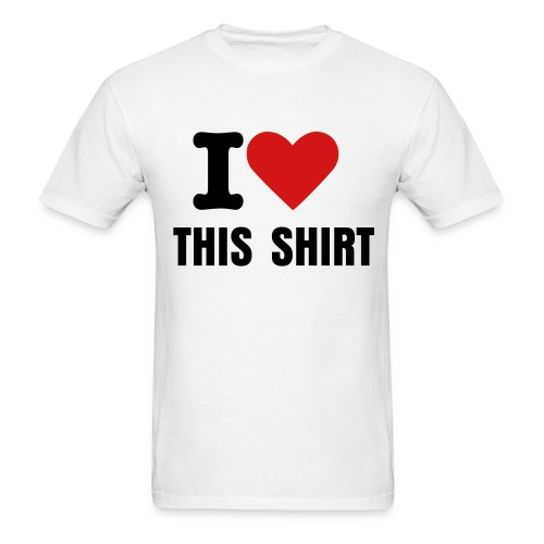 I Heart This Shirt - Men's T-Shirt