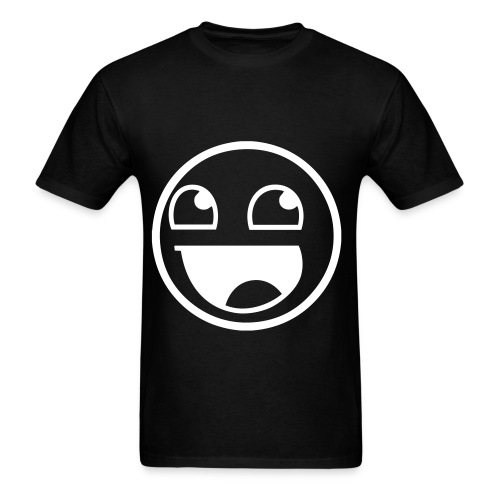 Awesome Face Inverted Colors - Men's T-Shirt