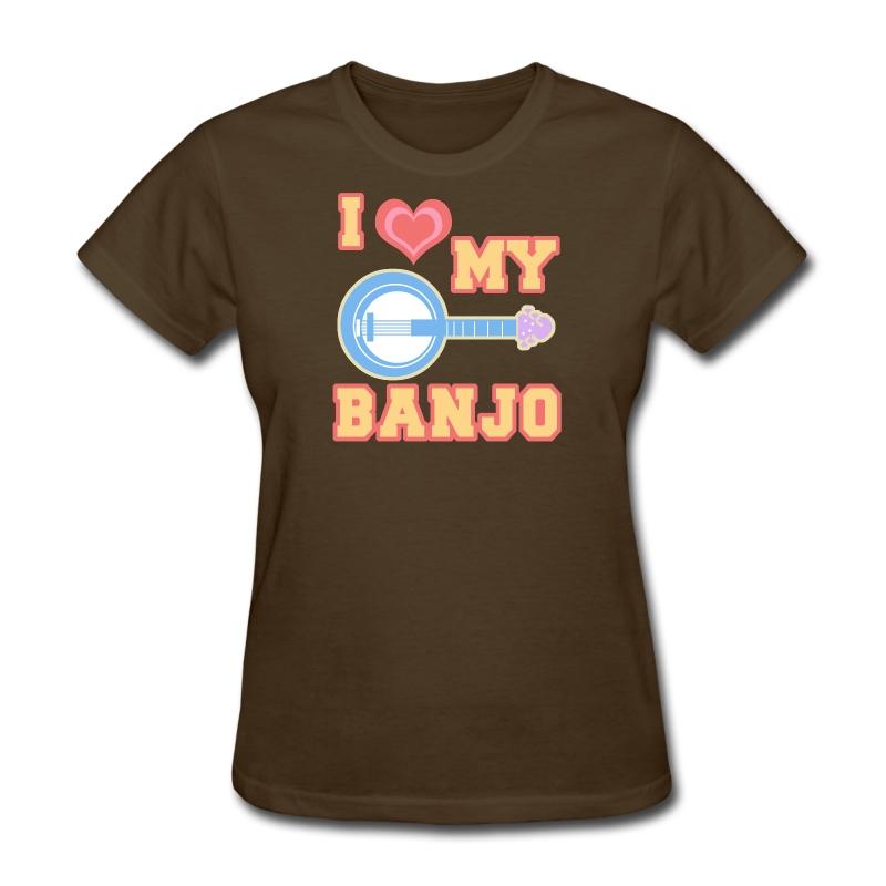 I Love My Banjo T Shirt Spreadshirt