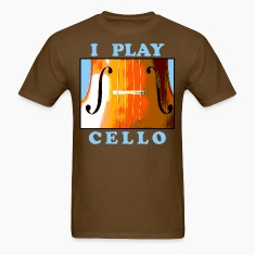 I Play Cello Men's T-Shirt