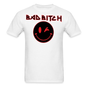 BAD BITCH SMILEY SHIRT - Men's T-Shirt