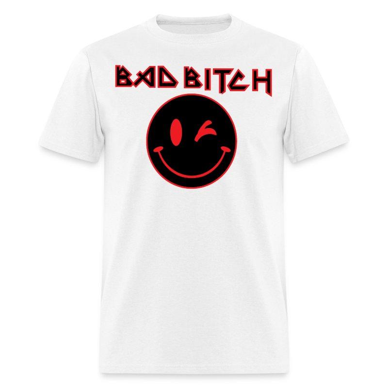 BAD BITCH SMILEY SHIRT - Men's T-Shirt