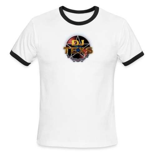 DJ Texs Baseball Shirt - Men's Ringer T-Shirt