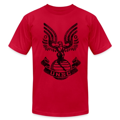 Halo UNSC T-shirt - Men's Fine Jersey T-Shirt