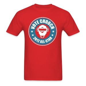 Vote Chooch 2012 All-Star Shirt - Men's T-Shirt