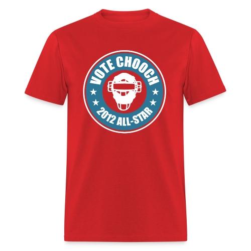 Vote Chooch 2012 All-Star Shirt - Men's T-Shirt