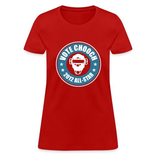 Womens Vote Chooch 2012 All-Star Shirt - Women's T-Shirt