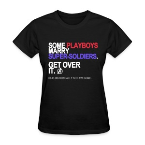 Some Playboys Marry Super-Soldiers Women's - Women's T-Shirt