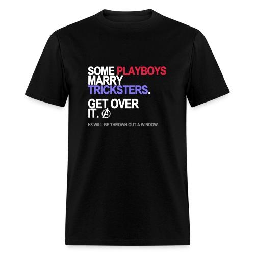 Some Playboys Marry Tricksters Men's - Men's T-Shirt