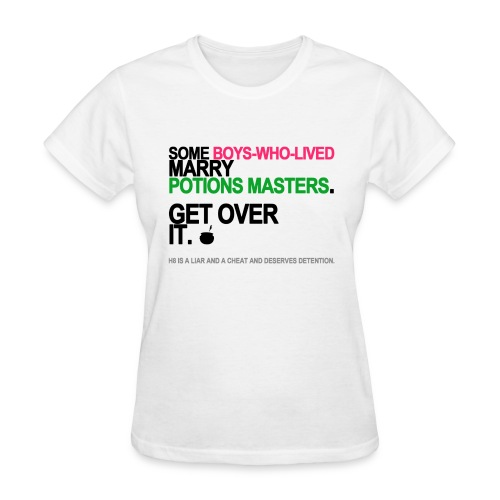 Some Boys Who Lived Marry Potions Masters Women's White - Women's T-Shirt