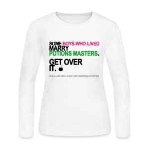 Some Boys Who Lived Marry Potions Masters Long Sleeve White - Women's Long Sleeve Jersey T-Shirt