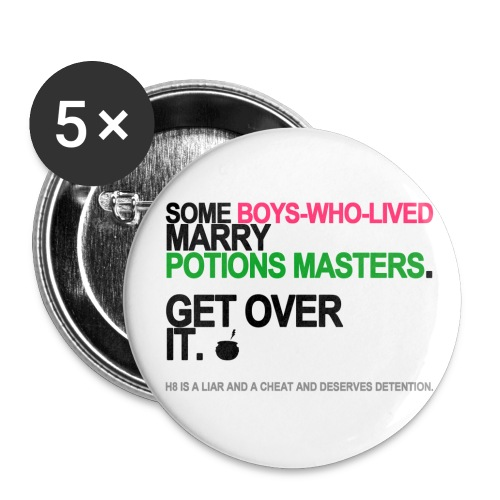 Some Boys Who Lived Marry Potions Masters Long Sleeve White - Small Buttons