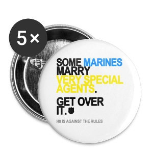 Some Marines Marry Very Special Agents Buttons - Small Buttons
