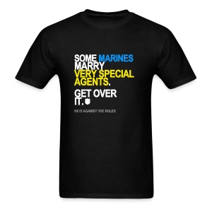 Some Marines Marry Very Special Agents Men's - Men's T-Shirt