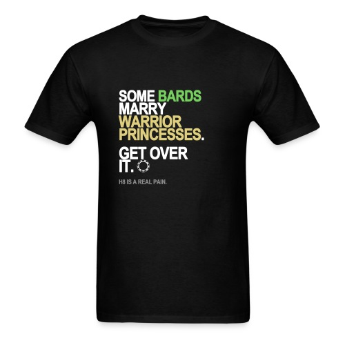 Some Bards Marry Warrior Princesses Men's - Men's T-Shirt