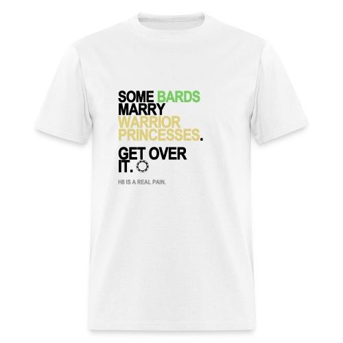 Some Bards Marry Warrior Princesses Men's White - Men's T-Shirt