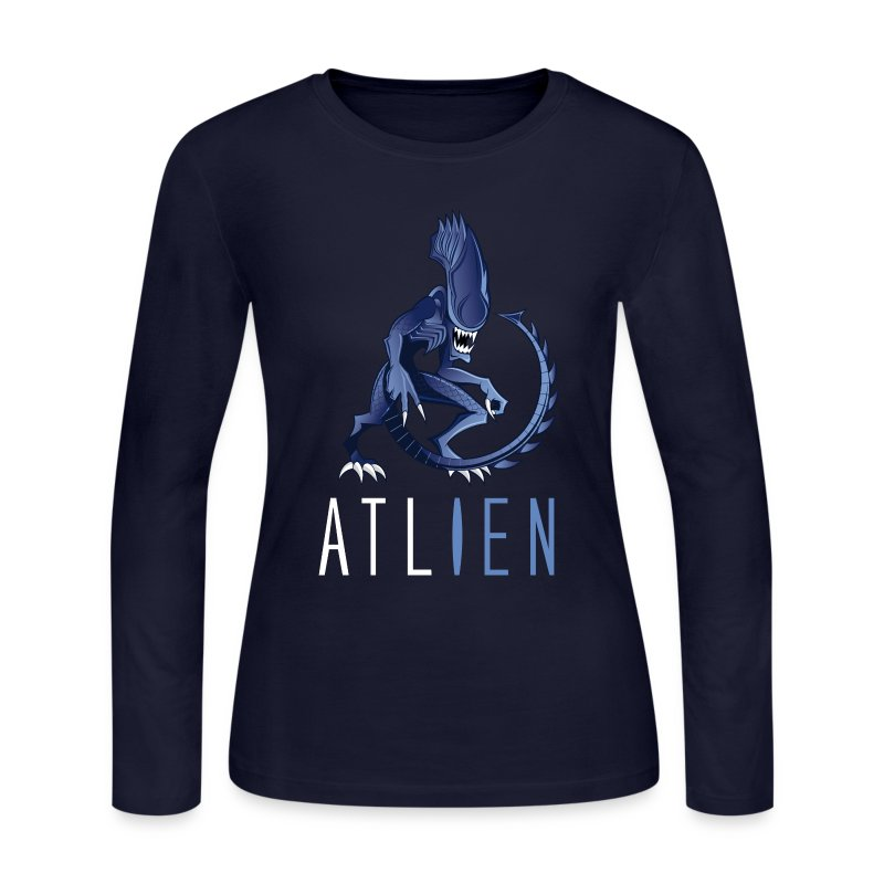 ATLien - Women's Long Sleeve Jersey T-Shirt