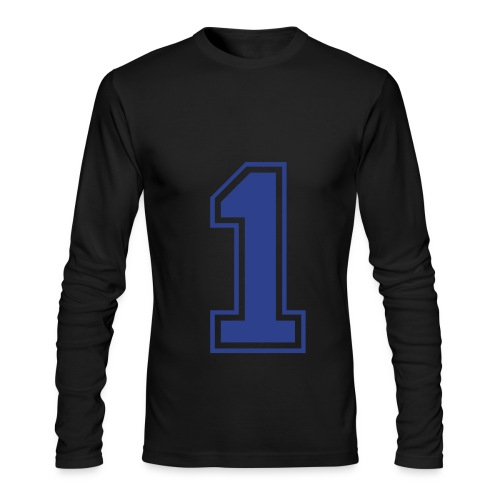 i'm a man - Men's Long Sleeve T-Shirt by Next Level