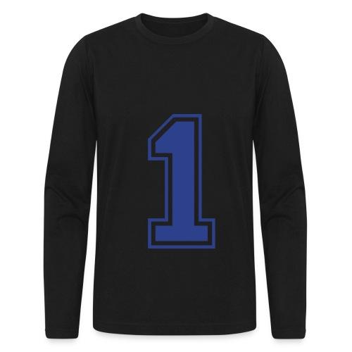 i'm a man - Men's Long Sleeve T-Shirt by Next Level