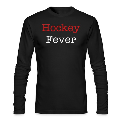 Hockey Fever - Men's Long Sleeve T-Shirt by Next Level