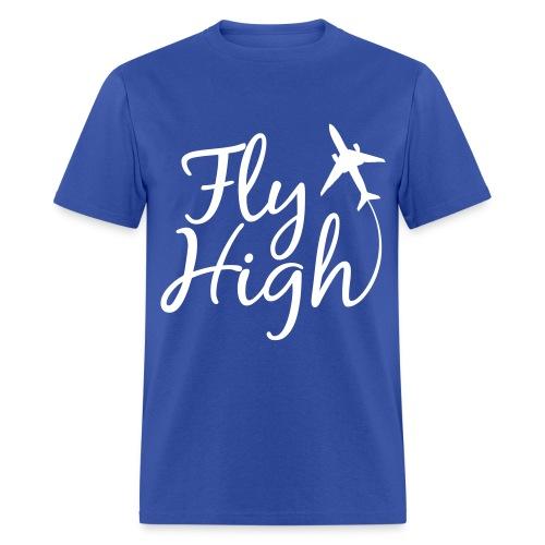 Men Fly High Shirt - Men's T-Shirt