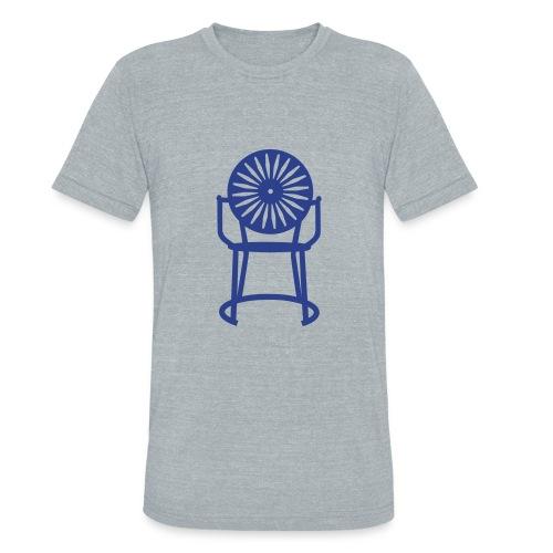 Solo Chair Tee Blue - Unisex Tri-Blend T-Shirt