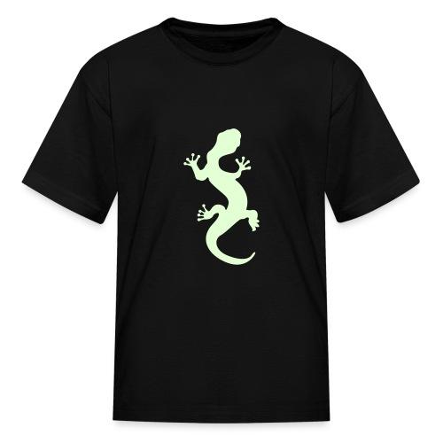 Funshirt - Gecko - Glow - Kids' T-Shirt