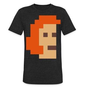 McPixel Deluxe T-shirt - Unisex Tri-Blend T-Shirt