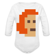 Baby Bodysuits ~ Baby Long Sleeve One Piece ~ McPixel Baby Thingie