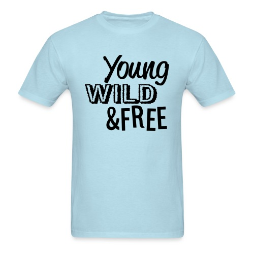 young, wild, free - Men's T-Shirt