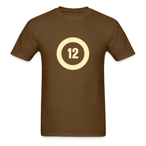 Big O12 cream - Men's T-Shirt
