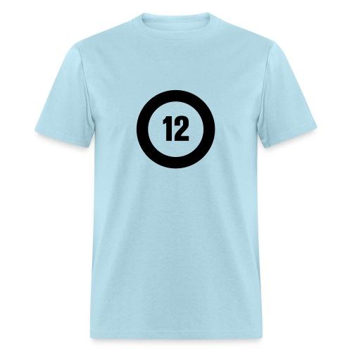 Big O12 black - Men's T-Shirt