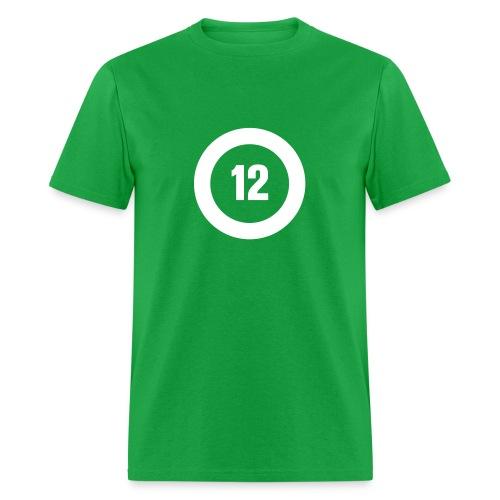 Big O12 white - Men's T-Shirt