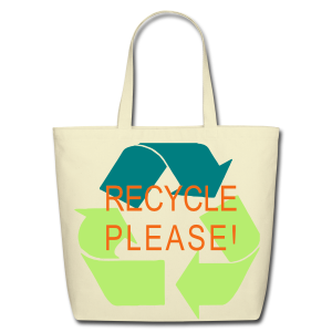 Recycle Please - Eco-Friendly Cotton Tote