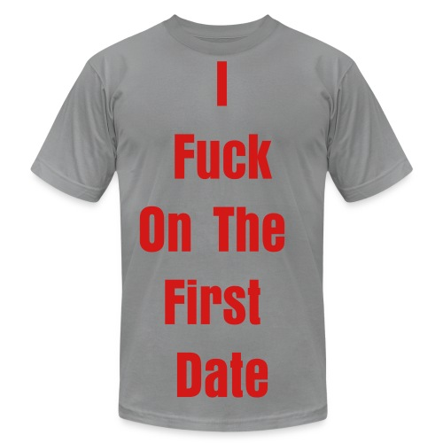 First Date 1 - Men's Fine Jersey T-Shirt
