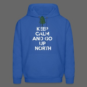 Keep Calm And Go Up North - Men's Hoodie