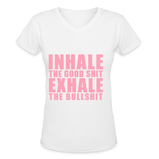 The inhale and exhale shirt