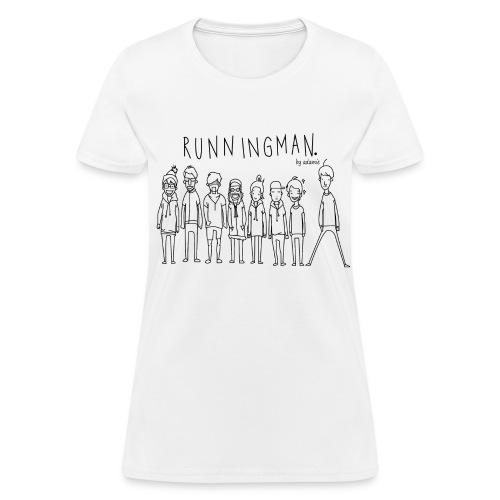 [Running Man!] Running Man Cast - Women's T-Shirt